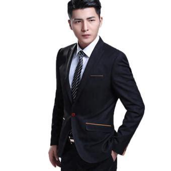 Jaket Jas Jas Pria Formal Hitam jas pria setelan jas formal hitam lazada indonesia