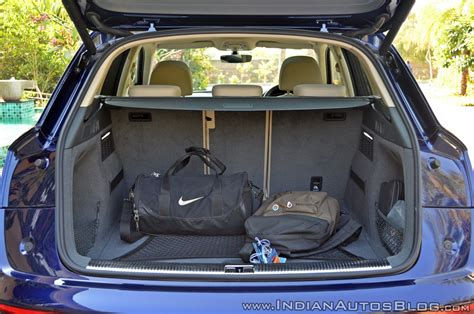 audi  test drive review boot space
