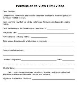 Permission Slip Template by Permission Slip Template Out Of Darkness