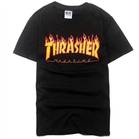 t shirt thrasher achat vente t shirt thrasher pas cher