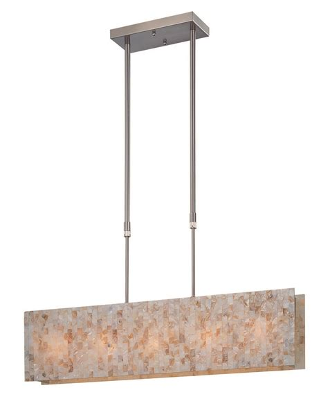 Rectangular Kitchen Island Lighting Lite Source Ls 19385 Schale Contemporary Rectangular Kitchen Island Billiard Light Ls 19385