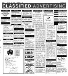 Classified Section Of Newspaper by Newspaper Classified Ads Template Www Imgkid The