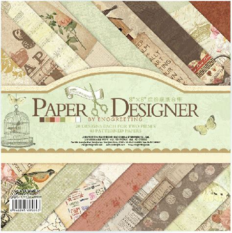 Designer Craft Paper - aliexpress buy 8 quot x 8 quot paper designer european