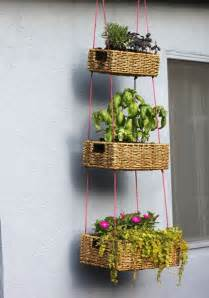 make your own hanging planter 12 ways to make your own hanging planters garden pics