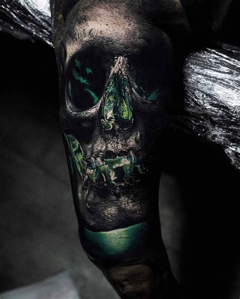 green lantern tattoos green lantern skull best ideas gallery