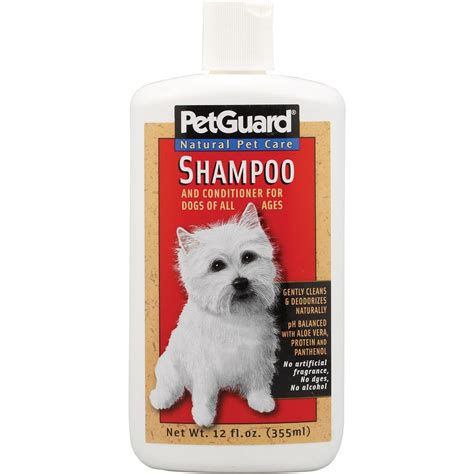 pet puppies pet guard shoo and conditioner naturalpetwarehouse
