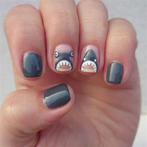 shapes of nails coughin 10 diy shark crafts that are scary fun