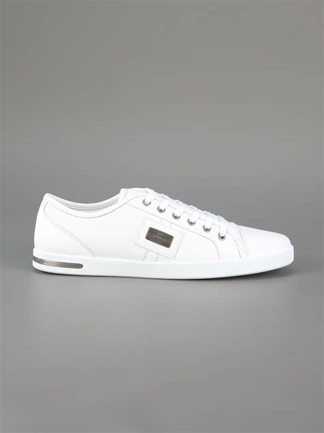 dolce and gabbana sport shoes dolce gabbana dg sneaker bianco in white for lyst