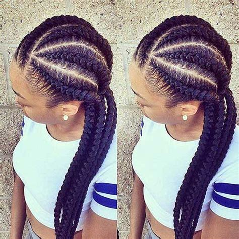nigerian plaiting 20 braids for african hair hairstyles haircuts 2016