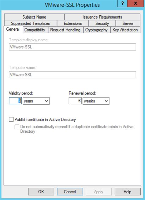 Certificate Template Renewal Period by Windows Certificate Template Renewal Period Gallery