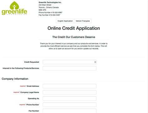 Direct Credit Form Link Market Services B2b Credit Chex Inc Credit Application Credit Reporting