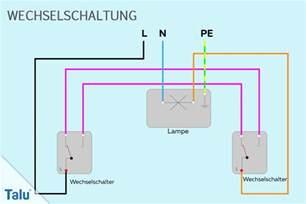 schaltplan wechselschalter mit 2 len wechselschalter anschlie 223 en anleitung zum anklemmen