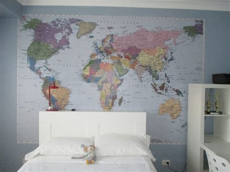 Bedroom Wallpaper Gold Coast World Map Wallpaper Mural