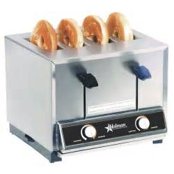 4 Slice Bagel Toaster Star Holman Bt4 Commercial 4 Slice Pop Up Bagel Toaster