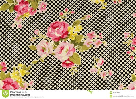black white stripe print pattern pink roses on black and white stripe fabric stock photo