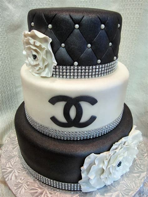 Quilted Cake by Mymonicakes Chanel Inspired Cake With Quilted And Ruffle