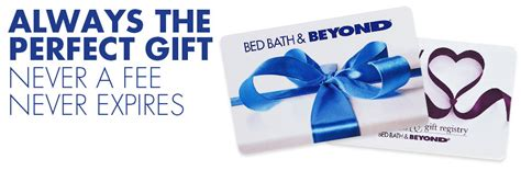 Bed And Bath Gift Card - gift cards