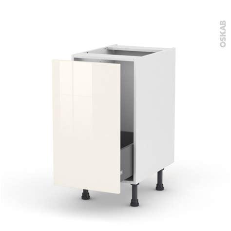 meuble de cuisine sous vier keria ivoire 1 porte changer facade meuble cuisine duyfron