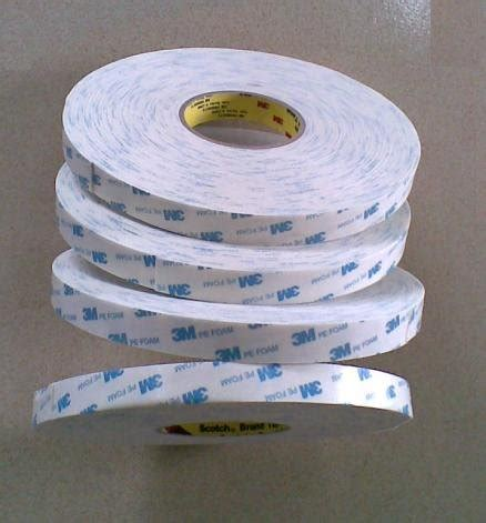Busa 3m Asli Pe Foam 3m 1600t pe foam two sides adhesive product details view 3m 1600t pe foam two sides
