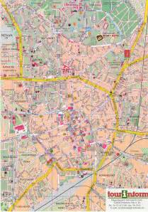 debrecen tourist map debrecen hungary mappery
