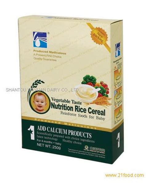 Sereal Instant Oatmeal Cereal nutrition rice cereal for baby products china nutrition