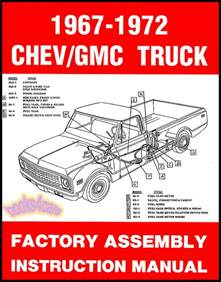 chevrolet gmc truck shop assembly manual pickup
