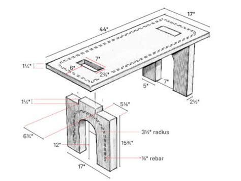 concrete bench ideas build this beautiful concrete bench