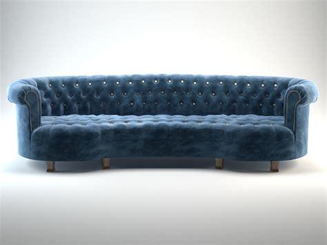 mirror sofa rebecca mirrored sofa 3d model max obj fbx blend