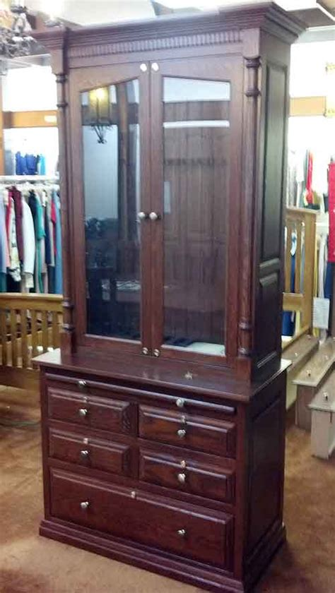 Handmade Gun Cabinet - amish custom gun cabinet idea gallery amish custom gun