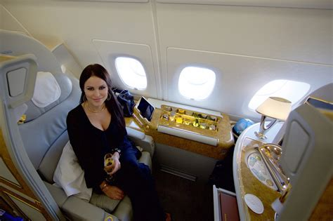 emirates business class cabin emirates a380 class an airline review
