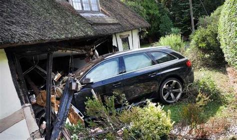 Cottage Cars by Beautiful Cottage Faces Demolition After Audi Crashes Into