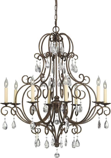 Murray Feiss Chateau Chandelier Murray Feiss Chateau 8 Light Chandelier Lighting Etc