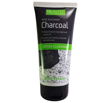 Charcoal Detox Wash by Formulas Charcoal Detox Cleanser Priyoshop