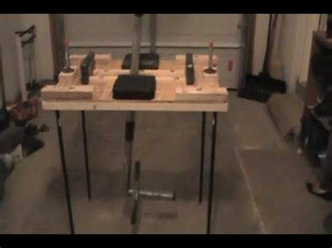 arm table armwrestling table