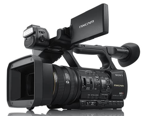 and camcorder all in one sony bolsters nxcam line with new hxr nx5r camcorder