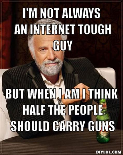 Tough Guy Memes - internet tough guy quotes quotesgram