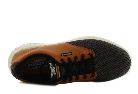 Skechers Dept Charge Trahan Hitam skechers shoes depth charge trahan 52398 wtbk