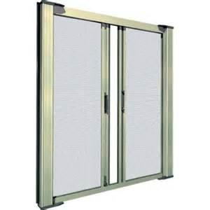 Motorized Patio Screens Double Door Retractable Screen Kit Retractable Door