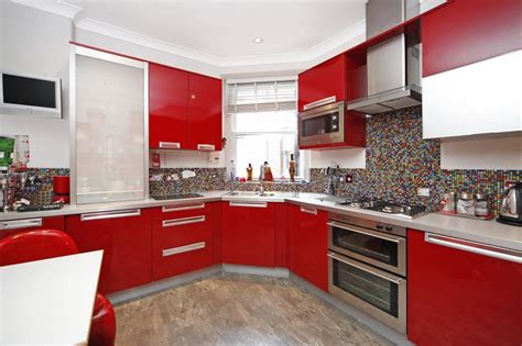 White And Red Kitchen Ideas by Kitchen Red Black Tiles Red Black And White Art Red White