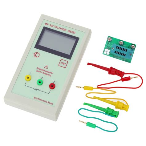 transistor tester capacitor esr inductance resistor meter npn pnp mosfet mk 328 transistor tester capacitor esr inductance resistor meter lcr npn pnp mos in lcd modules