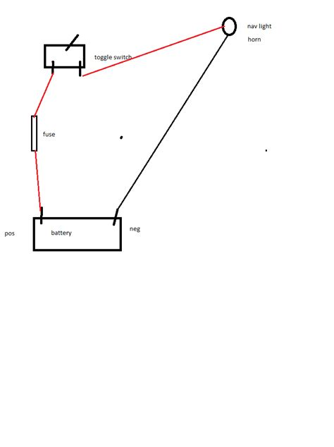 boat horn and light how to wire a boat light from light to switch horn also