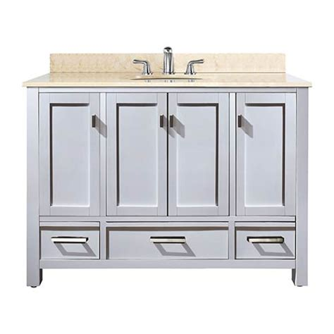 48 Inch Bathroom Vanity White Outdoor