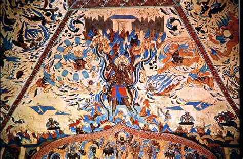 Ancient Egyptian Wall Murals 30 most beautiful paintings inside the mogao caves in