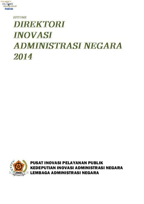 Buku Administrasi Negara buku direktori administrasi negara 2014
