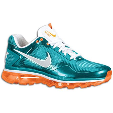 miami dolphins sneakers nike air trainer 1 3 max breathe dolphins available