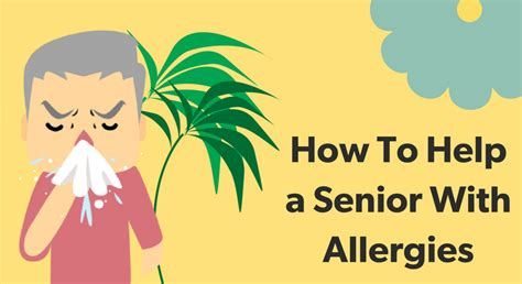 how to help allergies how to help a senior with allergies the helper bees