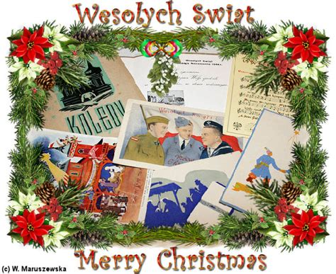 merry christmas wesolych swiat