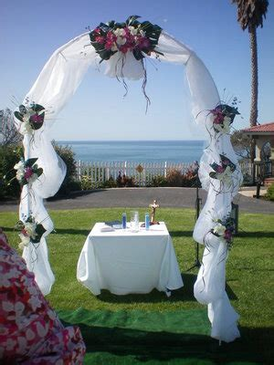 Wedding Arch Already Decorated by Pismo Ca Usa Themed Decor For Sale