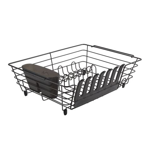 Rubbermaid Dish Rack by Rubbermaid Large Antimicrobial Dish Drainer With Loft