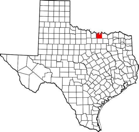 cooke county texas map file map of texas highlighting cooke county svg wikimedia commons